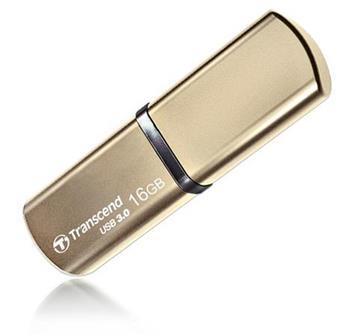 Transcend 16GB JetFlash 820, USB 3.0 flash disk, zlatý