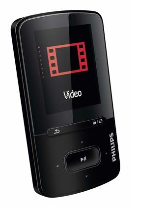 Philips SA4VBE04KF/12 MP3 prehrávač 4 GB,FM