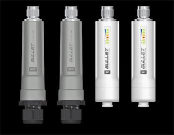 Ubiquiti BulletM2 HP, miniaturní outdoor klient 2,4GHz 802.11n