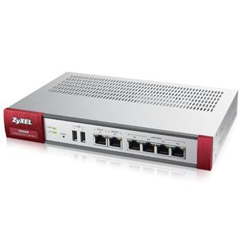 ZyXEL ZyWALL USG60 UTM BUNDLE, Security UTM solution: Firewall, VPN: 20x IPSec/ 20x SSL (5 default), 6x 1Gbps (4x LAN/D