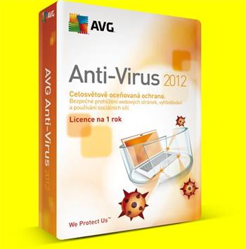 AVG Internet Security 1 lic. (12 měs.) SN Email