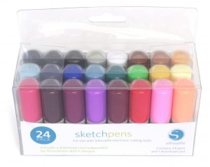 Silhouette - Sketch pera 24ks - startovací balení (KIT PEN)