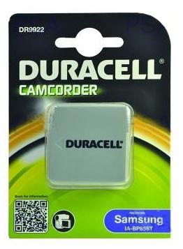 DURACELL Baterie - DR9922 pro Samsung IA-BP85ST, �ed�, 720 mAh, 7.4V