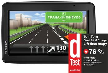 TOMTOM START 25 Europe LIFETIME mapy - Evropa (45 zemí), 5