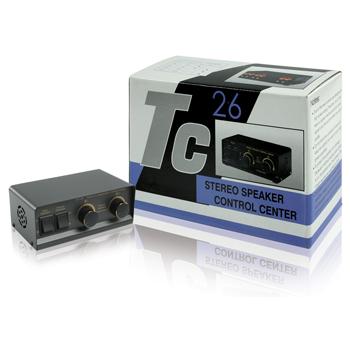 Valueline SPSWITCH-1 - přepínač/regulátor stereo reproduktorů TC28