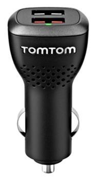 TOMTOM nabíječka vysokorychlostní duální do auta 12/24V (2x USB)