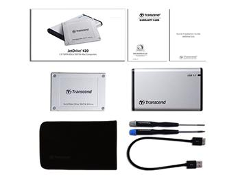 Transcend 480GB, Apple JetDrive 420 SSD, SATA3, MLC