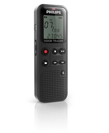Philips digitální záznamník DVT1100 - 4GB, USB