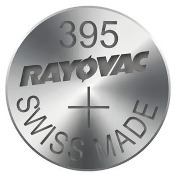 Rayovac 395 (SR927SW, 9.5 x 2.7 mm) - 10 ks, krabička