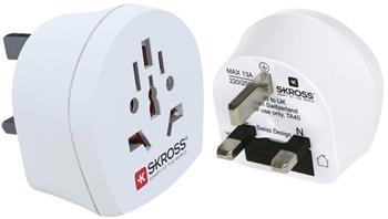 Skross SKR1500220 - Cestovní adaptér, svět - UK