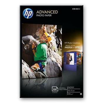 HP Q8692A Advanced Photo Paper, Glossy, 10 x 15cm, bez okraj, 100 listů, (pro inkoustové tiskárny)