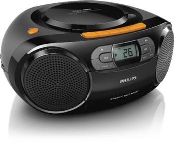 Philips AZ328/12 Rádio s CD,mp3,USB,a-tun,kazeta