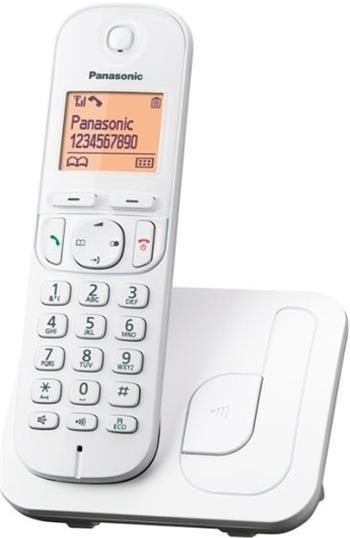 Panasonic KX-TGC210FXW, bezdrát. telefon, bílý