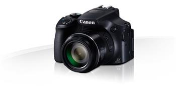 Canon PowerShot SX60 HS Black - 16MP, 65x zoom, 21-1365mm, 3