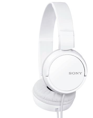 SONY MDR-ZX110 Uzavřená sluchátka na uši - White