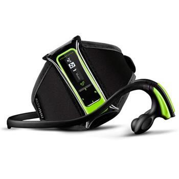 ENERGY Running Neon Green 8GB, MP3 sportovní přehrávač, krokoměr, FM,popruh na paži, sport. sluchátka