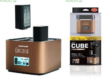 Hähnel proCUBE Sony/Olympus - profi nabíječka Li-ion baterií NP-BX1/NP-FW50 a BLN-1/BLS-5