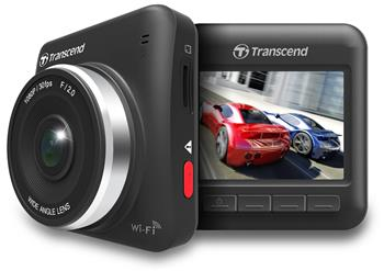 Transcend DrivePro 200 Car Video Recorder, kamera do auta, úhel 160°, G senzor, 2,4