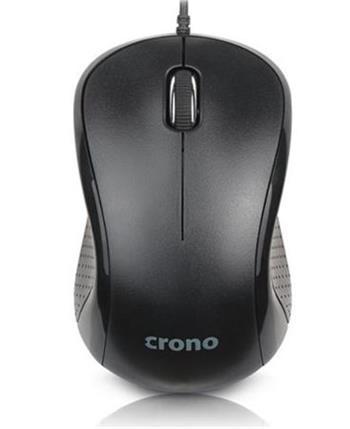 ! AKCE ! Crono OP-633 optická myš, černá, USB,DPI 1000