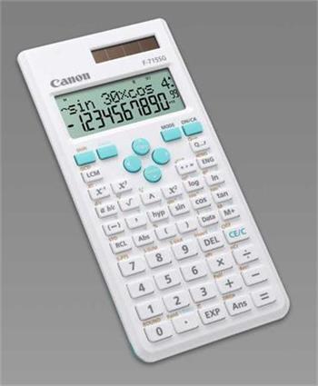 Canon kalkulačka vědecká F-715SG WHITE & BLUE
