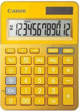 Canon kalkulačka LS-123K-MYL Yellow