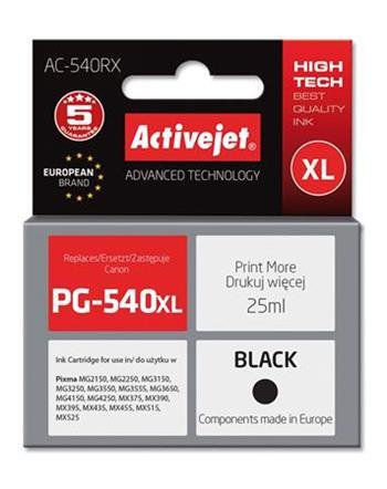 ActiveJet Ink cartridge Canon PG-540XL Prem. Bk AC-540RX 25 ml