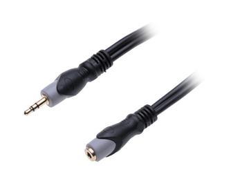CONNECT IT Wirez Prodlužovací kabel 3,5mm (M) Jack - 3,5mm (F) Jack 3m