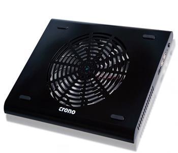 Crono CB158 - aktivní chladící podložka notebook do 15.6