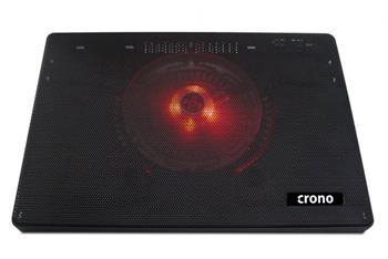 Crono CB157 - aktivní chladící podložka notebook do 15.6