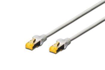 Digitus CAT 6A S-FTP patch cable, LSOH, Cu, AWG 26/7, Length 3m , color grey