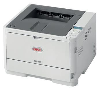 OKI B432dn A4, čb, 1200x1200, 40 ppm, USB 2.0,PCL6,PS3, duplex, síť.karta