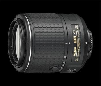 NIKKOR 55-200MM F4.0 -5.6G ED AF-S DX VR II