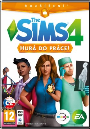 Electronic Arts PC hra The Sims 4 - Hurá do práce