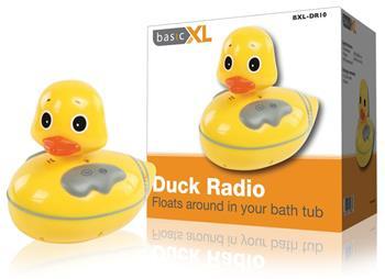 basicXL BXL-DR10 - Radiopřijímač kachnička do vany