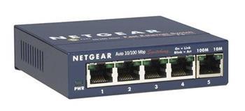 Netgear 5x 10/100 Mbps Fast Ethernet Switch power adapter