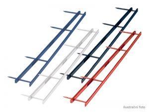Hřebenové hřbety GBC VELOBINDER, 45mm,25ks,modré
