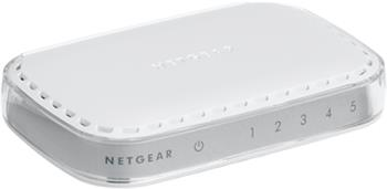Netgear 5x 10/100/1000 Platinum Ethernet Switch