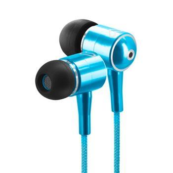ENERGY Earphones Urban 2 Cyan, ultralehká sluchátka, 96±3 dB (@1Khz),3,5mm jack