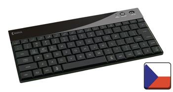 König CSKBBT300CZ - Podsvícená multimediální klávesnice Bluetooth