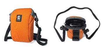 Crumpler Base Layer Camera Pouch S - burned orange/anthracite