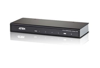 ATEN VS-184A 4-port HDMI rozbočovač 4K2K rozlišení (2160p Ultra HD)