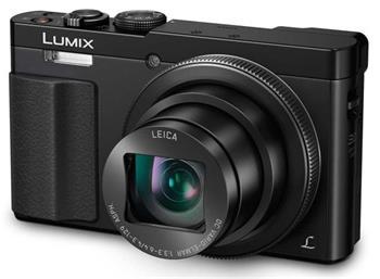 Panasonic DMC-TZ70EP-K, 12 Mpx MOS, 30x zoom 24mm HOIS+, Full HD, WiFi, hledáček, černá