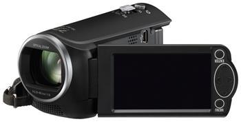 Panasonic HC-V160EP-K, 1x MOS BSI 2.2Mpx, 38x zoom, EIS, černá