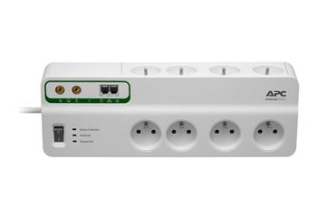 APC Performance SurgeArrest 8 outlets with Phone & Coax Protection 230V Czech