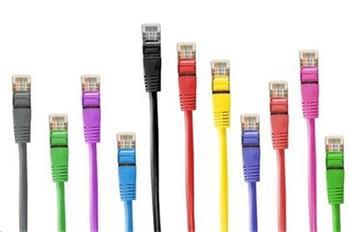 Patch kabel GEMBIRD c5e UTP 0 5m VIOLET
