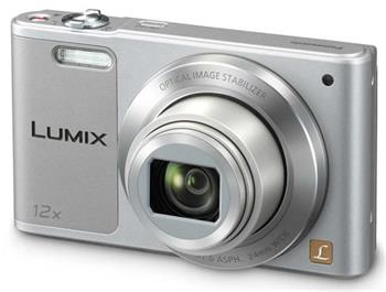 Panasonic DMC-SZ10EP-S, 16Mpx, 12x zoom 24mm, OIS, HD, WiFi, stříbrná