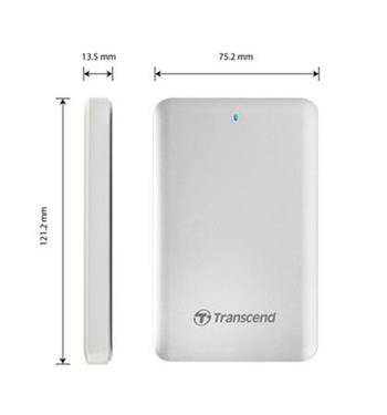Transcend 256GB USB 3.0 + Thunderbolt pro APPLE External Solid State Drive TS256GSJM500