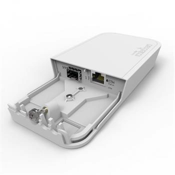 MikroTik RBFTC11, Opticko metalický konvertor, venkovní provedení, PoE injektor, napájecí zdroj