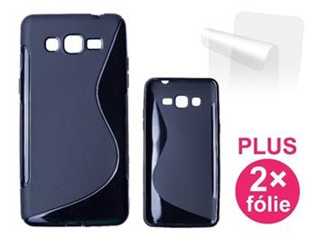 CONNECT IT S-COVER pro Samsung Galaxy Grand Prime (SM-G530F) ČERNÉ