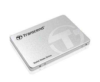TRANSCEND SSD370S 256GB SSD disk 2.5' SATA III 6Gb/s, MLC , Aluminium casing, 560MB/s R, 460MB/s W, stříbrný